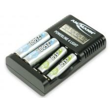 Ansmann batteriladdare Powerline 4 Light