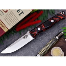 Bark River Bravo EDC Lava Flow Kirinite A2