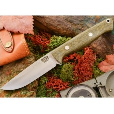 Bark River Gunny Hunter Jimped CPM 3V Green Canvas