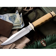 Bark River MACV-SOG Antique Ivory Micarta