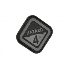 Hazard 4 Diamond Patch Black