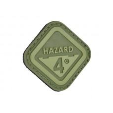 Hazard 4 Diamond Patch OD Green