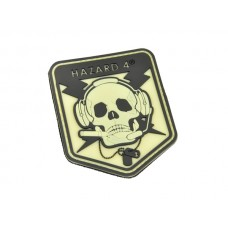 Hazard 4 SpecOp Skull Patch Glow in the dark