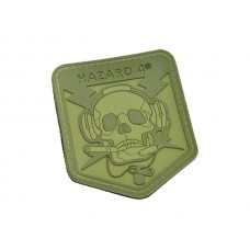 Hazard 4 SpecOp Skull Patch OD Green