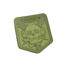 Hazard 4 SpecOp Skull Patch OD Green