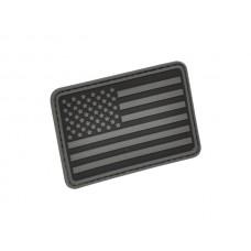 U.S. Flag Patch Black Left Arm