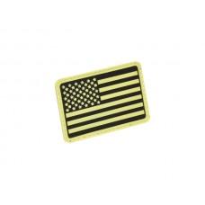 U.S. Flag Patch Glow in the dark Left Arm