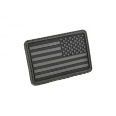 U.S. Flag Patch Black Right Arm