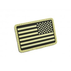 U.S. Flag Patch Glow in the dark Right Arm