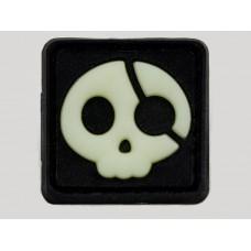 JTG Halloween Pirat velcro patch