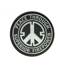 JTG Peace patch swat velcro patch