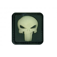 JTG Punisher Ghost velcro patch