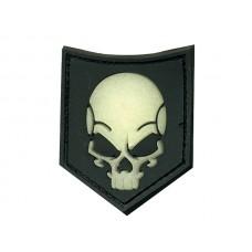 JTG SOF skull ghost velcro patch