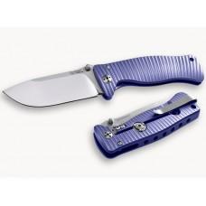 Fällkniv LionSteel SR-1 Titanium Purple