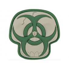 Maxpedition Arid Biohazard Skull Patch