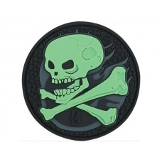 Maxpedition GLOW Skull Patch