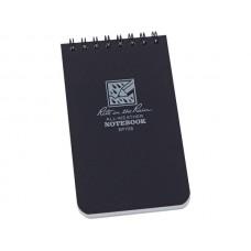 Rite in the Rain 3 x 5 Top Spiral Notebook Svart