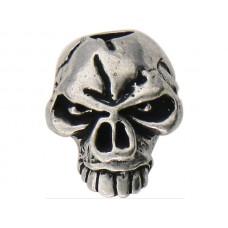 Emerson Skull Bead Pewter