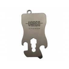 Vargo Outdoors Titanium Key Chain Tool - 1.1