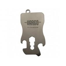 Vargo Outdoors Titanium Key Chain Tool - 1.1
